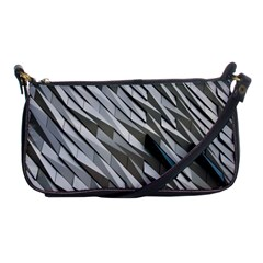 Abstract Background Geometry Block Shoulder Clutch Bags