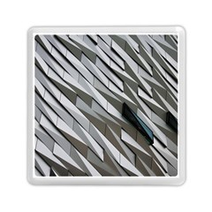 Abstract Background Geometry Block Memory Card Reader (square)