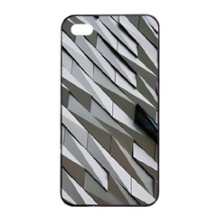 Abstract Background Geometry Block Apple Iphone 4/4s Seamless Case (black)