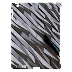 Abstract Background Geometry Block Apple Ipad 3/4 Hardshell Case (compatible With Smart Cover)