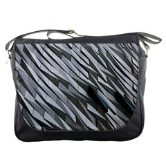 Abstract Background Geometry Block Messenger Bags