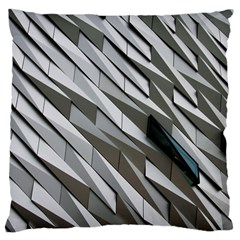 Abstract Background Geometry Block Large Cushion Case (two Sides)