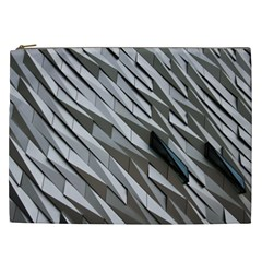 Abstract Background Geometry Block Cosmetic Bag (xxl)