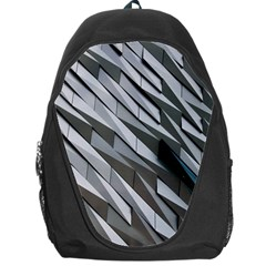 Abstract Background Geometry Block Backpack Bag