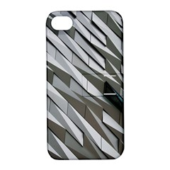 Abstract Background Geometry Block Apple Iphone 4/4s Hardshell Case With Stand