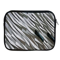 Abstract Background Geometry Block Apple Ipad 2/3/4 Zipper Cases