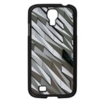 Abstract Background Geometry Block Samsung Galaxy S4 I9500/ I9505 Case (Black) Front