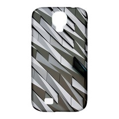 Abstract Background Geometry Block Samsung Galaxy S4 Classic Hardshell Case (pc+silicone)