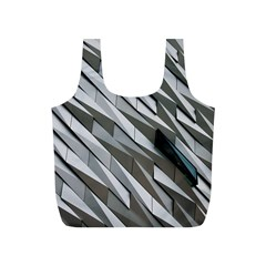 Abstract Background Geometry Block Full Print Recycle Bags (s)