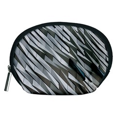 Abstract Background Geometry Block Accessory Pouches (medium)