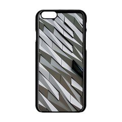 Abstract Background Geometry Block Apple Iphone 6/6s Black Enamel Case