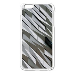 Abstract Background Geometry Block Apple Iphone 6 Plus/6s Plus Enamel White Case