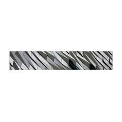 Abstract Background Geometry Block Flano Scarf (Mini)