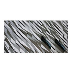 Abstract Background Geometry Block Satin Wrap