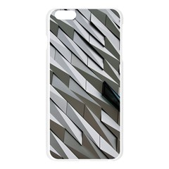 Abstract Background Geometry Block Apple Seamless iPhone 6 Plus/6S Plus Case (Transparent)
