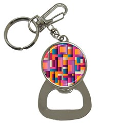 Abstract Background Geometry Blocks Button Necklaces