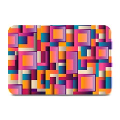 Abstract Background Geometry Blocks Plate Mats