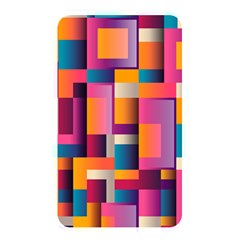 Abstract Background Geometry Blocks Memory Card Reader
