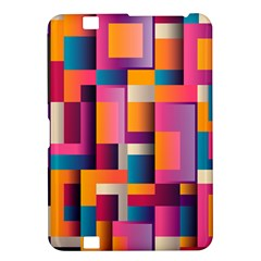 Abstract Background Geometry Blocks Kindle Fire Hd 8 9