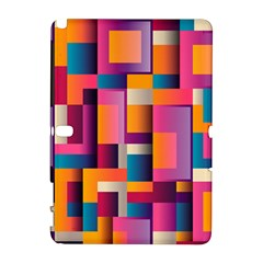 Abstract Background Geometry Blocks Galaxy Note 1