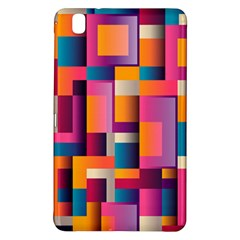 Abstract Background Geometry Blocks Samsung Galaxy Tab Pro 8 4 Hardshell Case