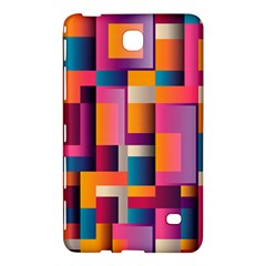 Abstract Background Geometry Blocks Samsung Galaxy Tab 4 (8 ) Hardshell Case