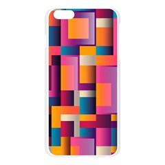 Abstract Background Geometry Blocks Apple Seamless iPhone 6 Plus/6S Plus Case (Transparent)