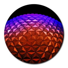 Abstract Ball Colorful Colors Round Mousepads