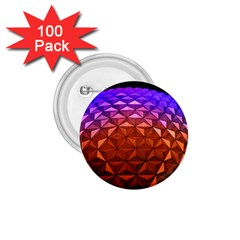 Abstract Ball Colorful Colors 1.75  Buttons (100 pack)