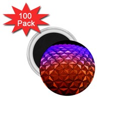 Abstract Ball Colorful Colors 1 75  Magnets (100 Pack)