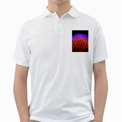Abstract Ball Colorful Colors Golf Shirts