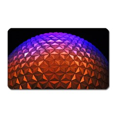 Abstract Ball Colorful Colors Magnet (rectangular)