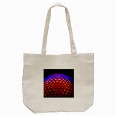 Abstract Ball Colorful Colors Tote Bag (cream)