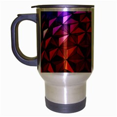 Abstract Ball Colorful Colors Travel Mug (silver Gray)