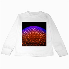 Abstract Ball Colorful Colors Kids Long Sleeve T Shirts