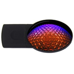 Abstract Ball Colorful Colors USB Flash Drive Oval (4 GB)