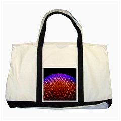 Abstract Ball Colorful Colors Two Tone Tote Bag