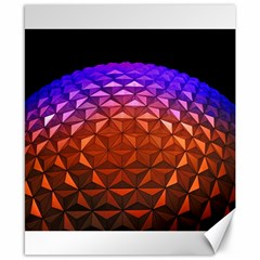 Abstract Ball Colorful Colors Canvas 8  X 10