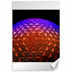 Abstract Ball Colorful Colors Canvas 12  X 18