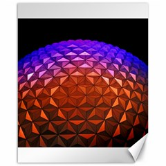 Abstract Ball Colorful Colors Canvas 16  X 20