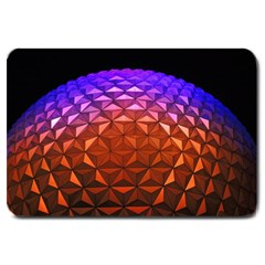 Abstract Ball Colorful Colors Large Doormat