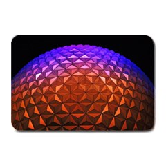 Abstract Ball Colorful Colors Plate Mats