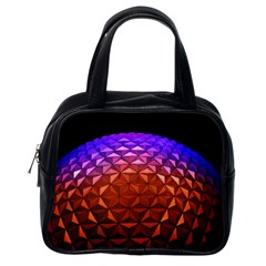 Abstract Ball Colorful Colors Classic Handbags (one Side)