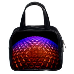 Abstract Ball Colorful Colors Classic Handbags (2 Sides)