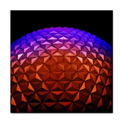 Abstract Ball Colorful Colors Face Towel