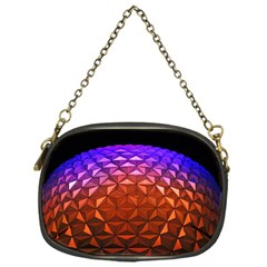 Abstract Ball Colorful Colors Chain Purses (one Side)