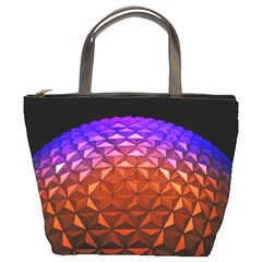 Abstract Ball Colorful Colors Bucket Bags