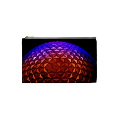 Abstract Ball Colorful Colors Cosmetic Bag (small)