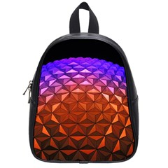 Abstract Ball Colorful Colors School Bags (small)