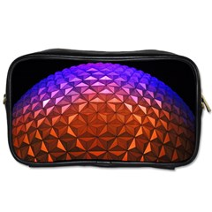Abstract Ball Colorful Colors Toiletries Bags